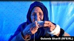 Razia 90 appreciates the simplicity and pleasures of nomadic life.