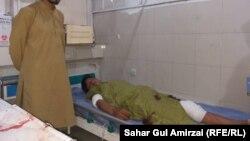 آرشیف، زخمی یک انفجار در شهر جلال آباد
