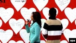 В Чехии в День влюбленных парочки собирается в церкви, где хранятся мощи святого Валентина