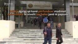 Diploma bachelor, e pamjaftueshme për punësim