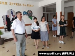 Директор школы №30 в городе Ургенче Пулат Орозов.