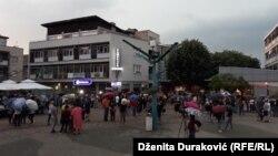 Protest u Bihaću, 16.06. 2019.