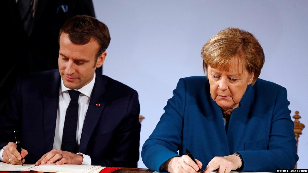 Лидеры ФРГ и Франции подписали соглашение об углублении сотрудничества