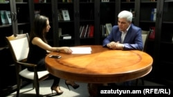 Степан Григорян в студии Азатутюн ТВ, 5 сентября 2016 г.