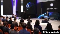 На церемонии открытия технологического парка Astana Hub. Астана, 6 ноября 2018 года.