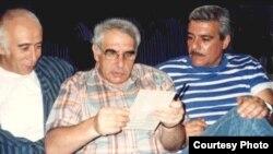 Вагрич Бахчанян, Евгений Рейн и Сергей Довлатов. Фото из архива В.Бахчаняна