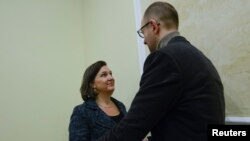 Вікторія Нуланд, Арсеній Яценюк, архівне фото