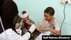 Pamje nga sulmi i së enjtes në Jemen.