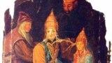 Сөембикә улы Үтәмешгәрәй хан 1553 елның гыйнварында Александр исеме белән Чудов монастырендә чукындырыла