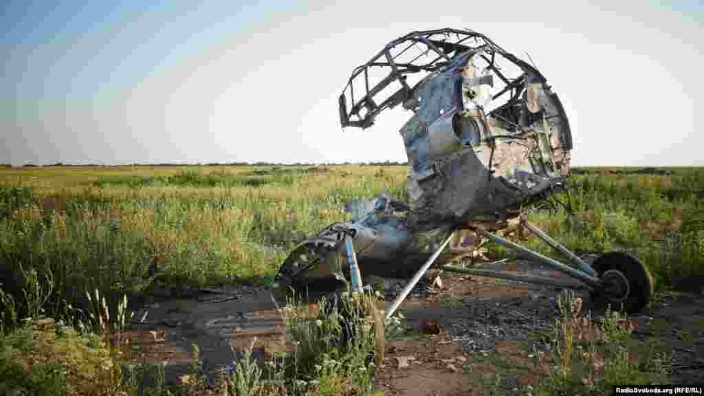 Літаки цивільної авіації також були знищені під час багатоденних артобстрілів