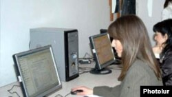 Armenia -- A computer class in Yerevan, undated