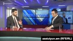 Давид Санасарян в эфире программы Азатутюн ТВ «Интервью с Карленом Асланяном», 21 февраля 2019 г.
