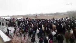 سلګونو اعتراض کوونکو د کابل – کندهار لاره د ټرافیکو پر مخ تړلې