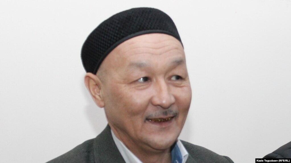 Кенжебек Абишев на суде по его делу. Алматы, 2018 год