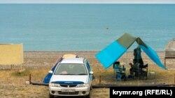 Дзікі адпачынак у Крыме, ілюстрацыйнае фота