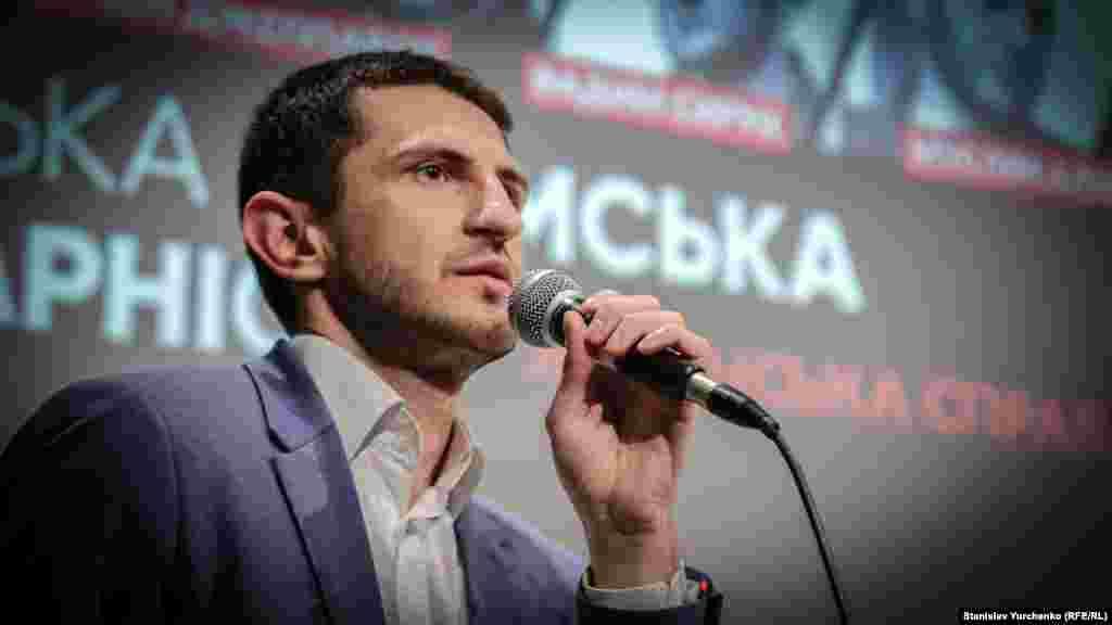 Программный директор «Крымского дома» Алим Алиев
