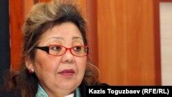 Алматы қалалық соты апелляциялық сот алқасының судьясы Күлпәш Өтемісова, 18 қаңтар 2012 жыл.