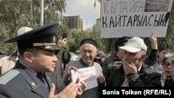 В минувшие несколько дней в ряде городов Казахстана прошли акции солидарности с протестующими в Жанаозене против привлечения китайских инвестиций.
