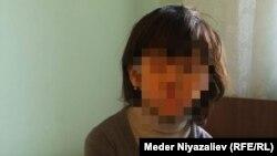 Девочка, которая со слов матери была изнасилована родным отцом.