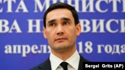 Serdar Berdymukhammedov is the son of the Turkmen president.