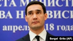 Serdar Berdymukhammedov, the son of the Turkmen president
