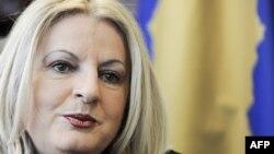Лидерот на приштинската делегација во дијалогот со Белград, Едита Тахири