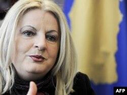 Šefica pregovaračkog tima Kosova i zamenica premijera Edita Tahiri