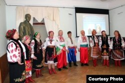 Літературний вечір Бориса Олійника і Ліни Костенко в Музеї Інки Купали у Мінську