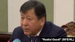 Рамазон Рахимзода. глава МВД Таджикистана