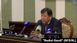 Рамазон Раҳимзода, вазири умури дохилии Тоҷикистон.