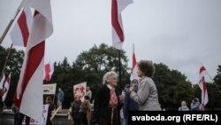 Акцыя КХП БНФ у дзень Беларускай вайсковай славы