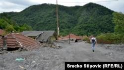 Topčić Polje nakon majske poplave koja je izazvala klizište