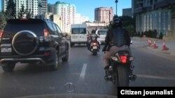 Bakı motosikletçiləri