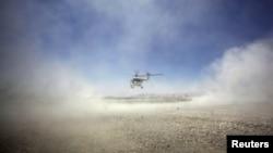 Вертолет НАТО в Афганистане