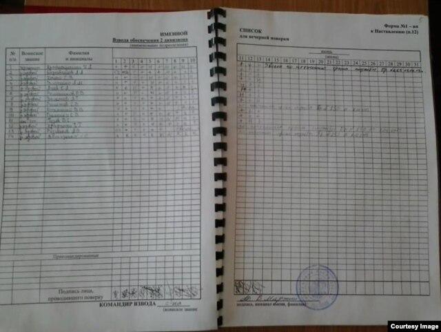 Один из списков военнослужащих 53-й бригады, опубликованных самими солдатами в социальных сетях