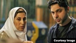 فاطمه معتمدآریا و پیمان معادی در نمایی از فیلم «قصهها»