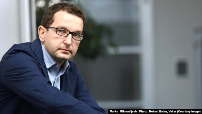 Marko Milosavljević (na fotografiji, datum nepoznat): Orban je učestovao na Janšinim stranačkim skupovima i podupirao ga na svim izborima