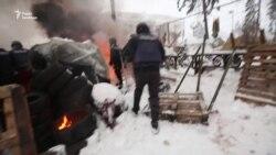 Працівник поліції застосував газовий балончик проти журналіста Радіо Свобода (відео)