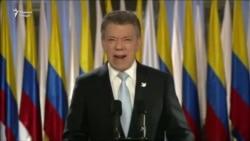 Президенти Колумбия ба ҷоизаи сулҳи Нобел сазовор дониста шуд.