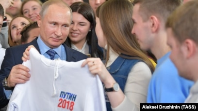 50 Ways To Love Your Putin Russian Tv Fawns Over Election Drive