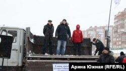 Rusiyada pensiya etirazları