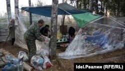 """Соципотечнки """"Салават күпере"""" закрывают палаточный городок"""