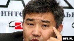 «Нұр Отан» партиясы төрағасының орынбасары Дархан Қалетаев. Алматы, 3 қараша, 2009 жыл.