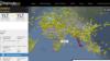 Найбуйнейшы трэкер палётаў Flightradar24.com паказвае, куды ляціць экіпаж Санты