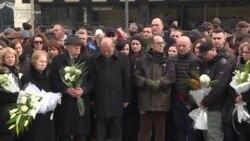 Homazhet e Lëvizjes Vetëvendosje në dhjetë vjetorin e vrasjes së dy aktivistëve