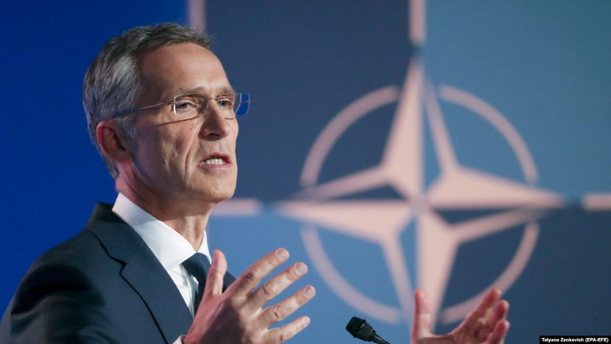 НАТО выступает за политическое урегулирование ситуации вокруг Украины – Столтенберґ