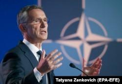 Secretarul general NATO, Jens Stoltenberg , Bruxelles, 11 iulie 2018