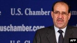 رئيس الوزراء العراقي يتحدث في غرفة التجارة الأميركية بواشنطن