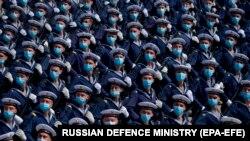 Repetiție pentru parada militară care va marca, cu întârziere, Ziua Victoriei, Moscova, 10 iunie 2020
