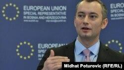 Шефот на бугарската дипломатија Николај Младенов.